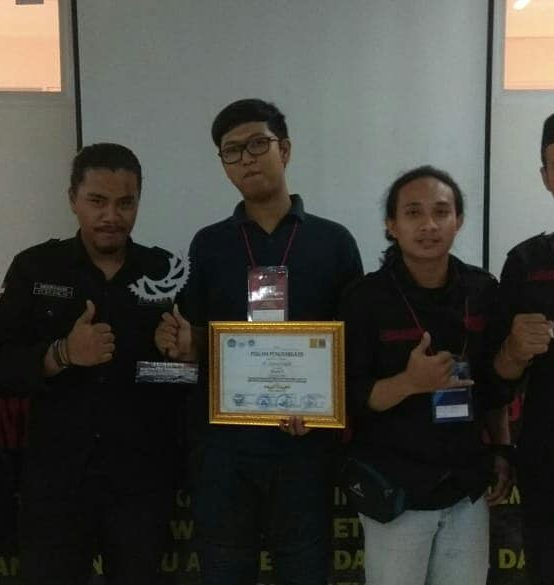 Juara 1 Software Competition,  Mechanical Engineering Competition